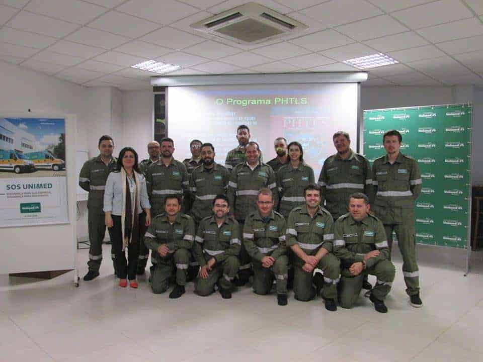 Curso PHTLS para Unimed Brusque