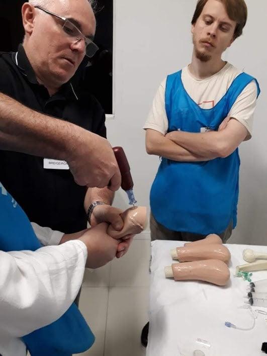 curso atls punção intraóssea