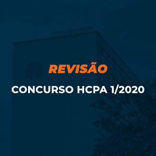 Aula revisão HCPA 1/2020 - Preparatório Hospital de Clínicas de Porto Alegre 1